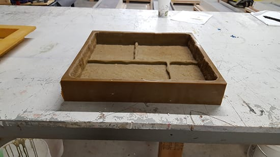 Rubber Mold Design - Wet Cast Pavers